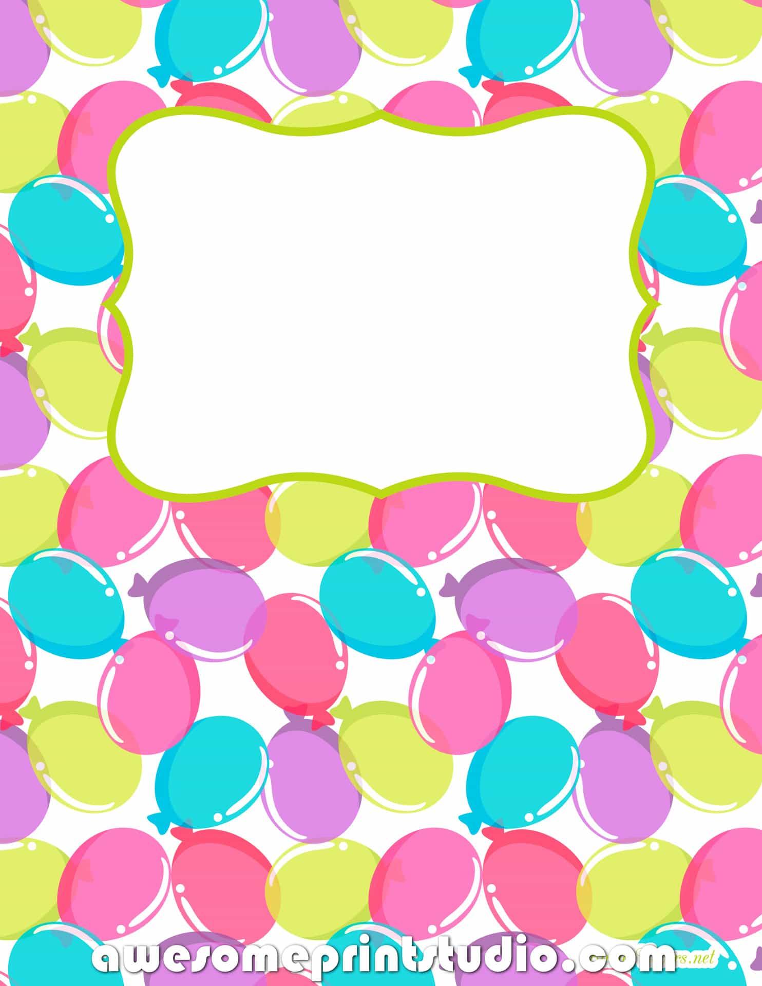 распечатать красивые обложки для тетрадей с воздушными шариками